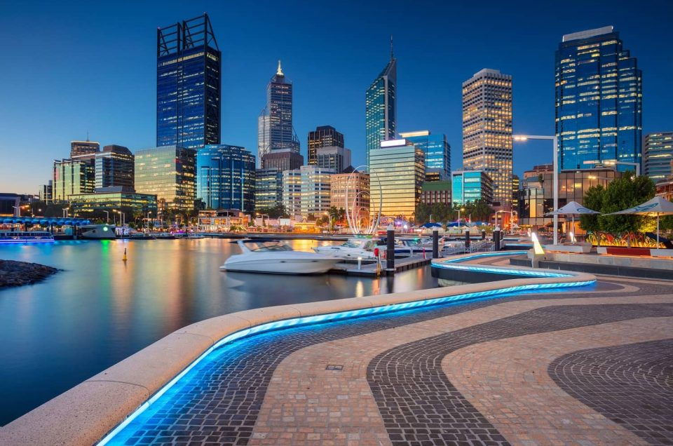 Perth City at Night