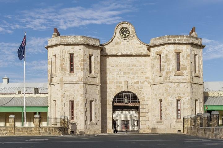 The historic Fremantle Prison