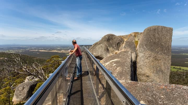 Granite Skywalk Near Albany