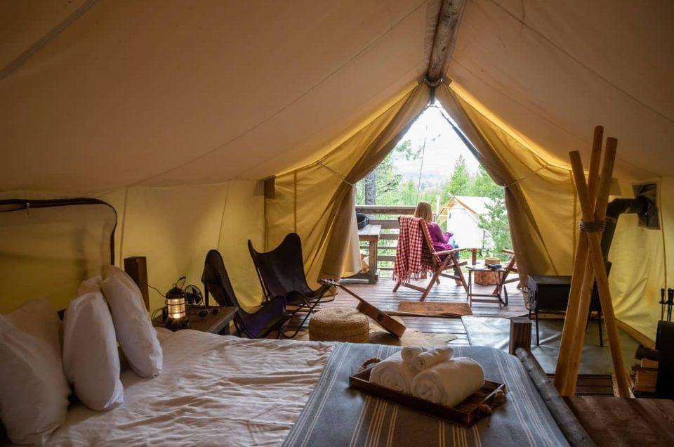 Camping vs glamping