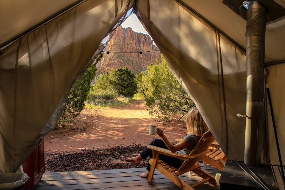 Glamping offers a range of benefits