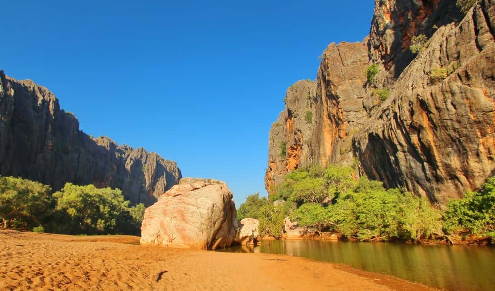 Windjana Gorge National Park is ideal for camping.
