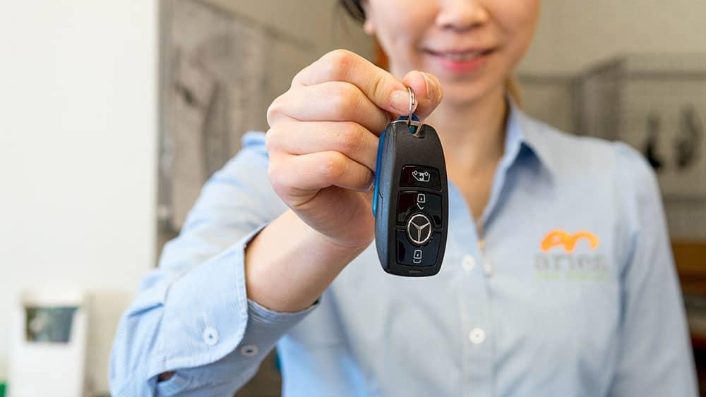 Rental car keys perth